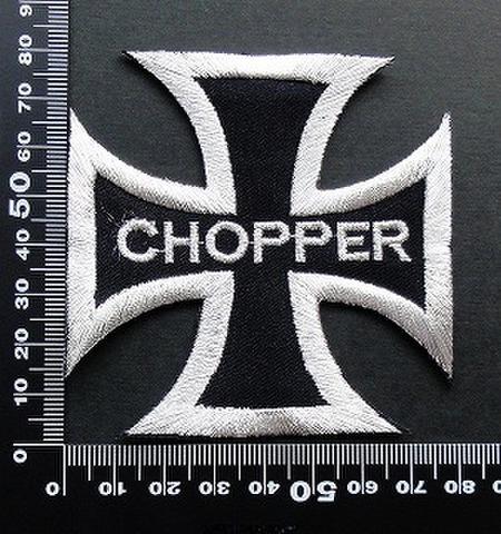 チョッパー Chopper Bike ワッペン パッチ 09488