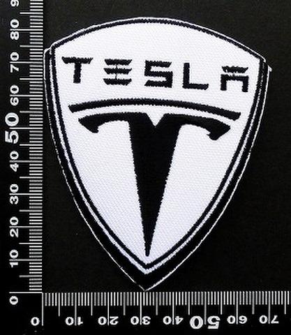 テスラモーターズ(Tesla Motors ワッペン パッチ 09822