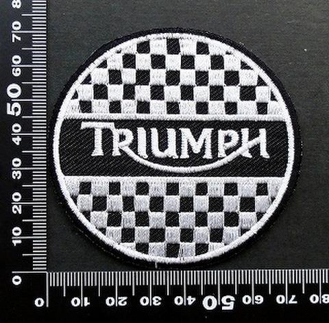 トライアンフ triumph ワッペン パッチ 09535