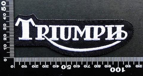 トライアンフ triumph ワッペン パッチ 09554