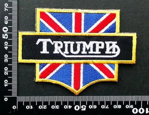 トライアンフ(Triumph ) ワッペン パッチ 09823
