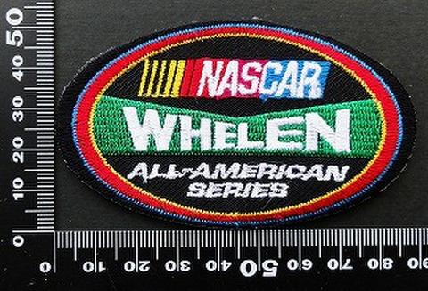ナスカー NASCAR Whelen ワッペン パッチ 09831