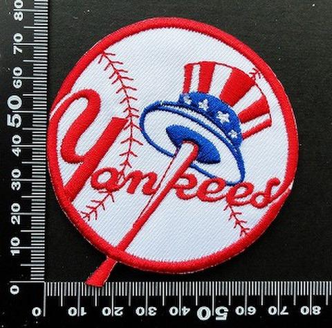 ニューヨークヤンキース New York Yankees ワッペン パッチ  09844