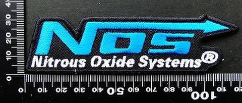 ノス nos ワッペン パッチ  09791