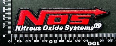ノス nos ワッペン パッチ   09790