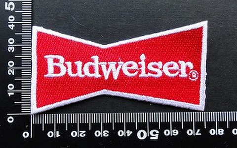 バドワイザー BUDWEISER ワッペン パッチ 09592