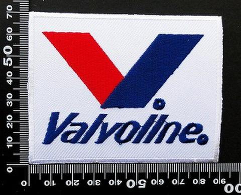 バルボリン Valvoline ワッペン パッチ 09836