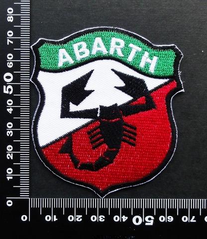 アバルト(ABARTH)ワッペン パッチ 09539