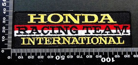 ホンダ ウイング HRC HONDA ワッペン パッチ 09669