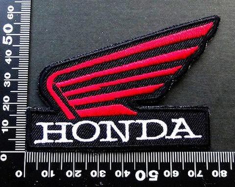 ホンダ ウイング HRC HONDA ワッペン パッチ 09671