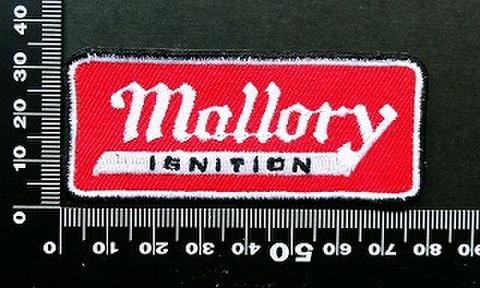 マロリー mallory ワッペン パッチ 09727