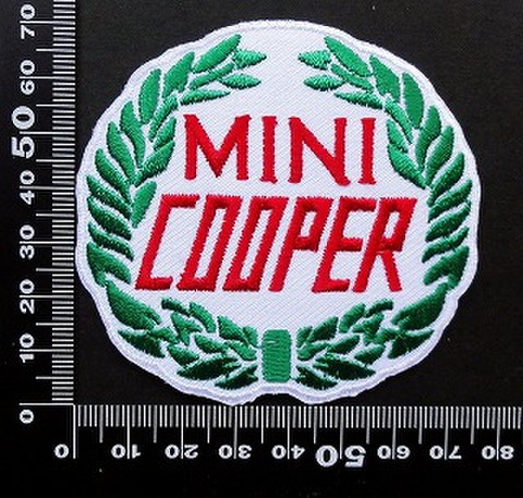 ミニクーパー MINI Cooper  ワッペン パッチ 09736