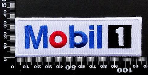 モービル1 MOBIL1 ワッペン パッチ 09737