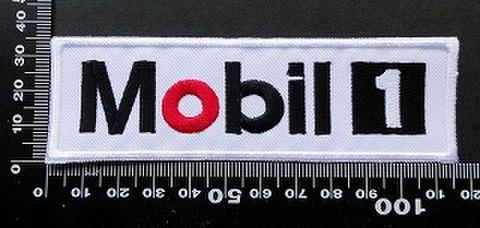 モービル1 MOBIL1 ワッペン パッチ  09733