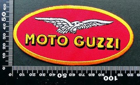モトグッチ Moto Guzzi  ワッペン パッチ 09728