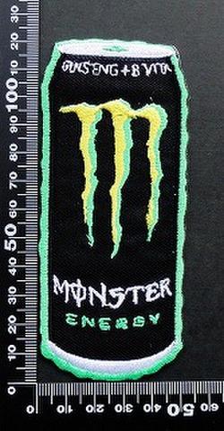 モンスターエナジー ドリンク Monster Energy ワッペン パッチ 09484