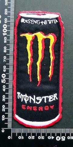 モンスターエナジー ドリンク Monster Energy ワッペン パッチ 09507