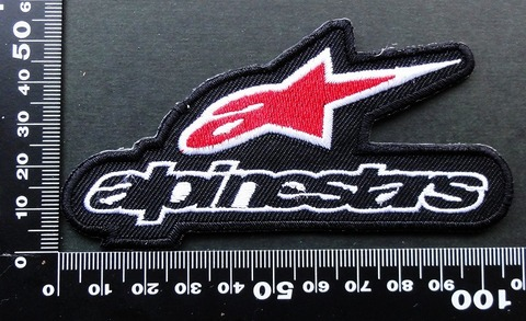 アルパインスターズalpinestars ワッペン パッチ 09572