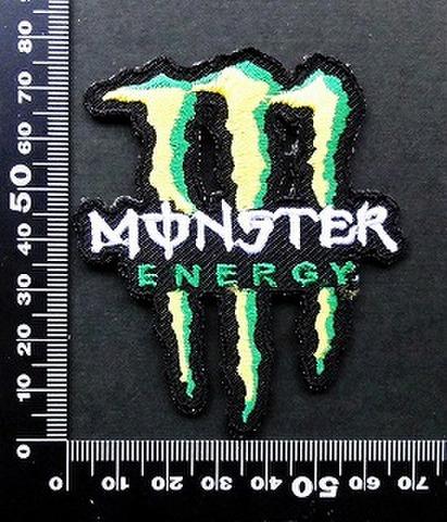 モンスターエナジー ドリンク Monster Energy ワッペン パッチ 09746
