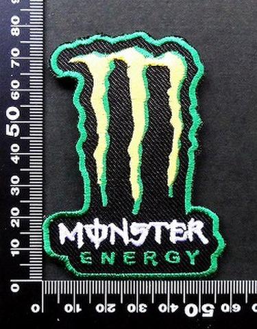 モンスターエナジー ドリンク Monster Energy ワッペン パッチ 09747