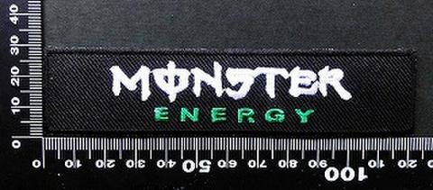 モンスターエナジー ドリンク Monster Energy ワッペン パッチ 09748