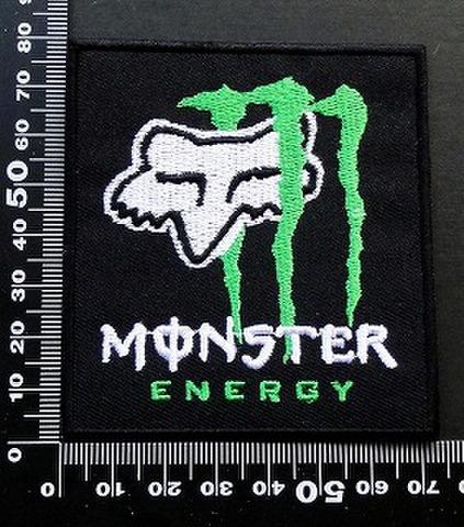 モンスターエナジー ドリンク Monster Energy ワッペン パッチ FOX フォックス 09643