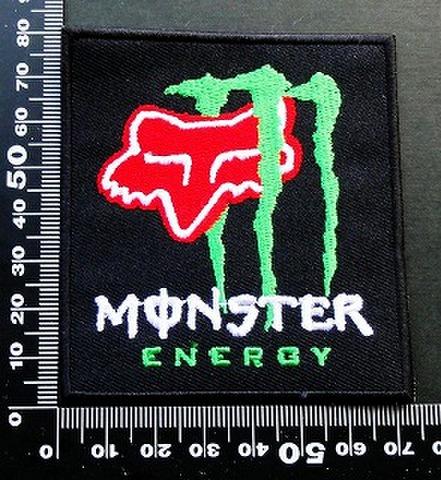 モンスターエナジー ドリンク Monster Energy ワッペン パッチ FOX フォックス  09649