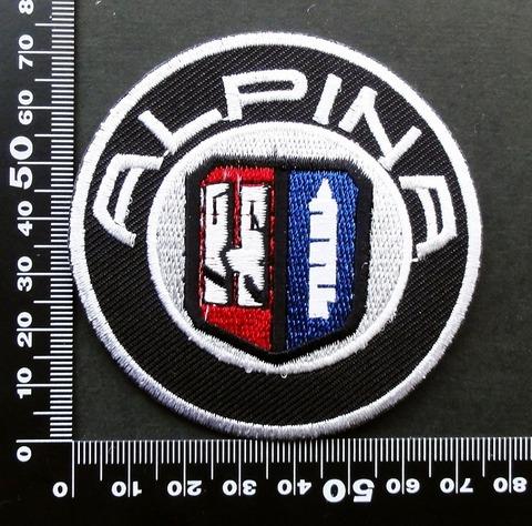 アルピナ ALPINA  ワッペン パッチ 09566
