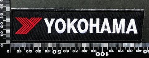 ヨコハマタイヤ yokohama  ワッペン パッチ 09842