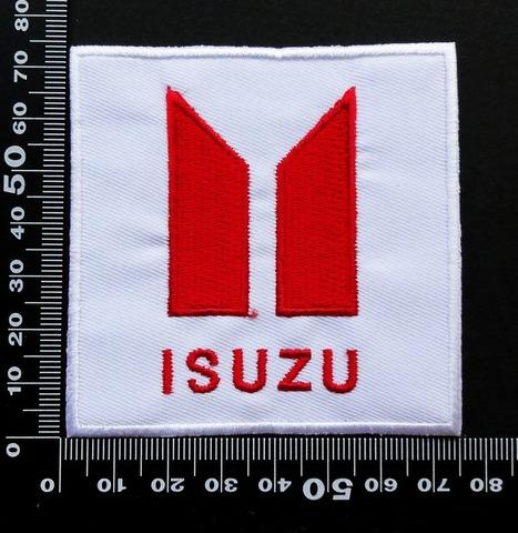 いすゞ isuzu ワッペン パッチ 09693
