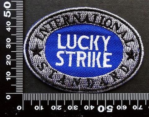 ラッキーストライク Lucky Strike ワッペン パッチ 09714
