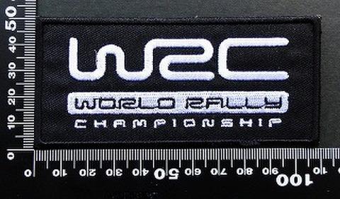 ラリー wrc ワッペン パッチ 09551