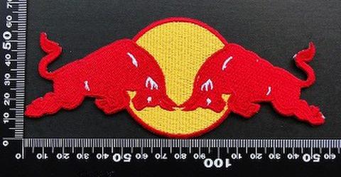 レッドブル Red Bull ワッペン パッチ 09496