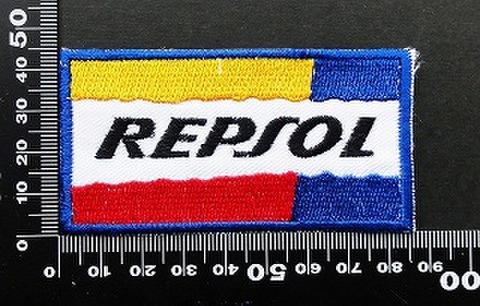 レプソル REPSOL ワッペン パッチ 09765