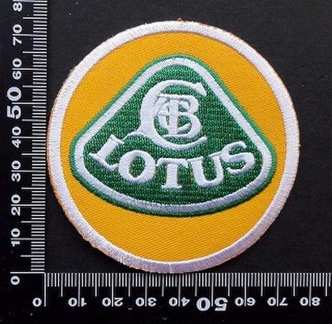 ロータス LOTUS ワッペン パッチ 09711