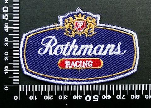 ロスマンズ Rothmans ワッペン パッチ 09522