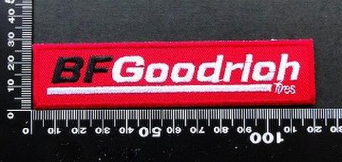 ワッペン BFグッドリッチタイヤ  BFGoodrich ワッペン パッチ 09598