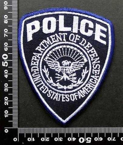 警察 ポリス POLICE ワッペン パッチ  09754