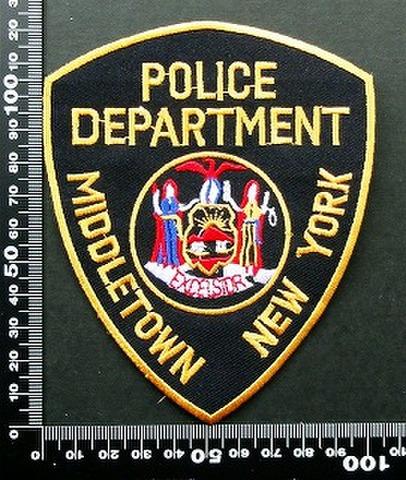 警察 ポリス POLICE ワッペン パッチ  09757