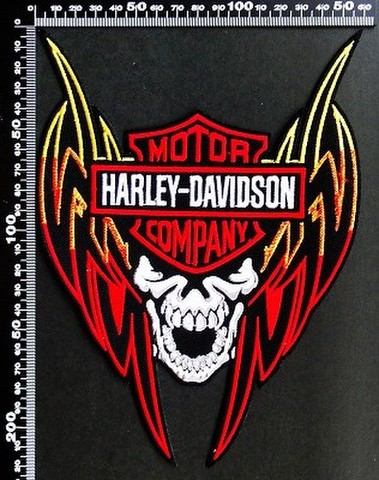 ハーレーダビッドソン (Harley‐Davidson) ワッペン パッチ 00155