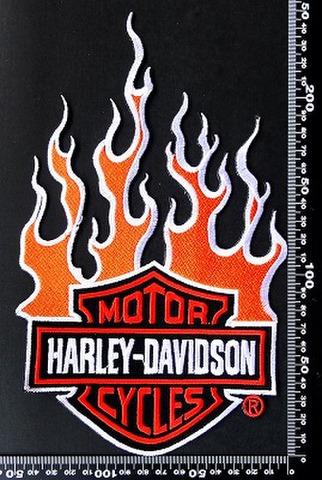 ハーレーダビッドソン (Harley‐Davidson) ワッペン パッチ 00157