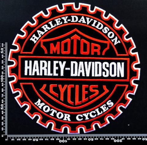 ハーレーダビッドソン (Harley‐Davidson) ワッペン パッチ 00158