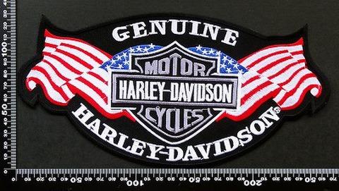 ハーレーダビッドソン (Harley‐Davidson) ワッペン パッチ 00162