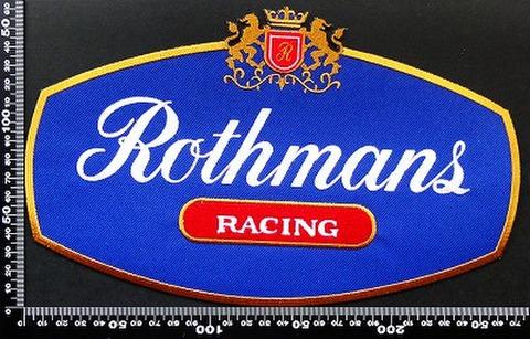 ロスマンズ Rothmans ワッペン パッチ 00168