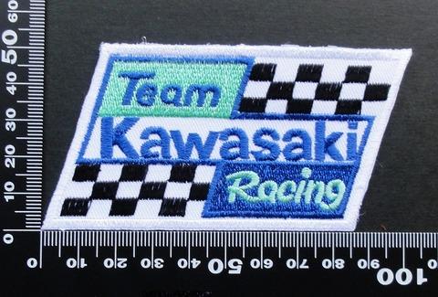 KAWASAKI カワサキ ワッペン パッチ 09491