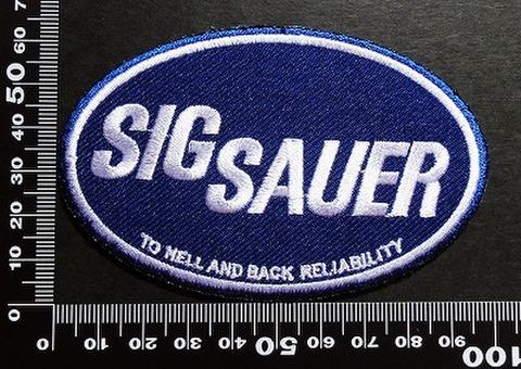 SIG SAUER シグ・ザウエル ワッペン パッチ 00365