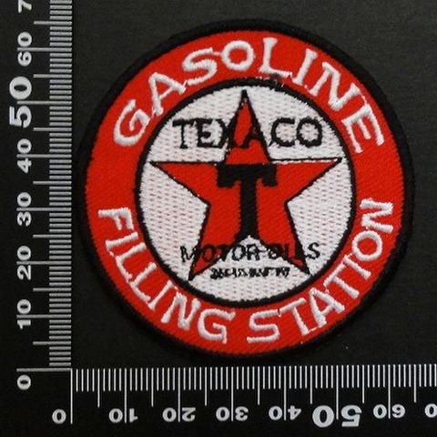 Texaco gasoline ガソリン  ワッペン パッチ  00558