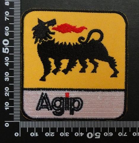 アジップ Agip ワッペン オイル 00545