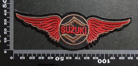 スズキ SUZUKI ワッペン パッチ 00375