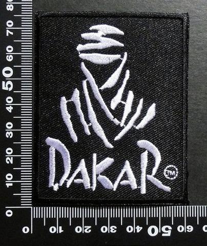 ダカールラリー DAKAR ワッペン パッチ  00360